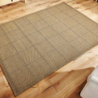 Checked Flatweave - Natural