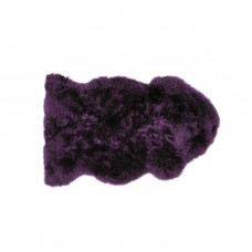 Genuine Sheepskin - Plum