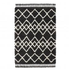 Morocco - Charcoal/Ivory