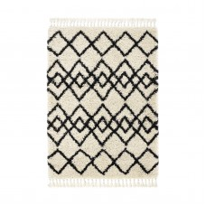 Morocco - Ivory/Charcoal