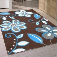 Flash - Floral Brown Blue