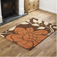 Blossom- Brown / Terra Runner Rug