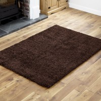 Everest Shaggy - Chocolate Brown-5cm Thick Pile