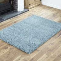 Everest Shaggy - DuckEgg Blue - 5cm Thick Pile