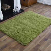 Everest Shaggy - Lime Green- 5cm Thick Pile