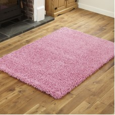 Everest Shaggy - Pink - 5cm Thick Pile