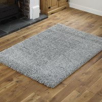 Everest Shaggy - Silver - 5cm Thick Pile