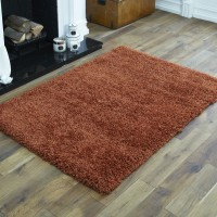Everest Shaggy - Terracotta - 5cm Thick Pile