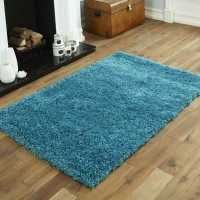 Everest Shaggy - Turquoise Blue- 5cm Thick Pile