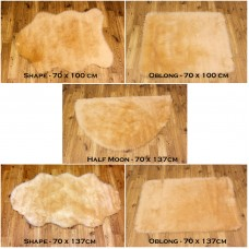 Sheepskin Clearance - Beige