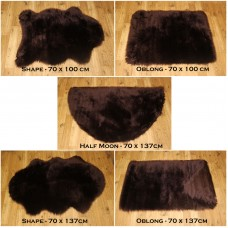 Sheepskin Clearance - Chocolate Brown