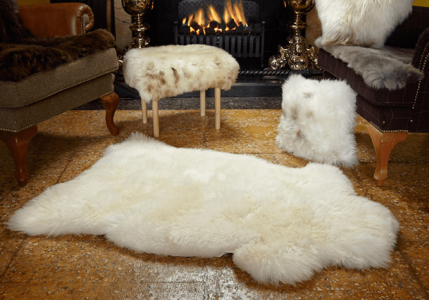 Faux Fur Rugs