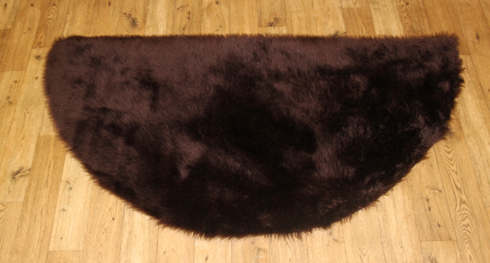Sheepskin - Chocolate Brown