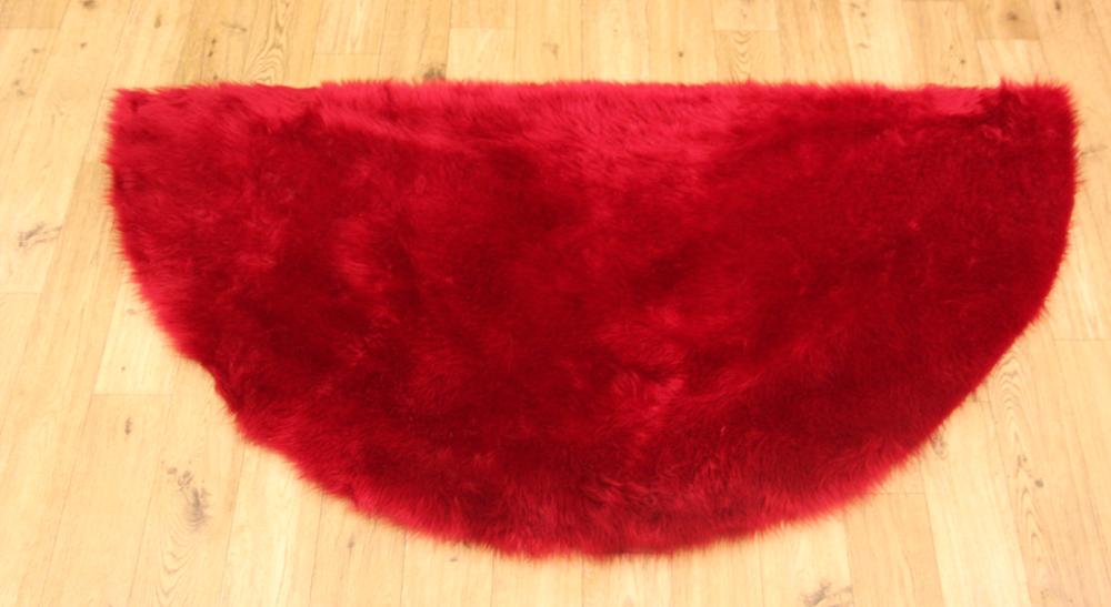 Sheepskin - Red