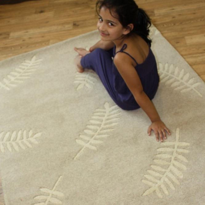 Indian Wool Kayla - Ivory