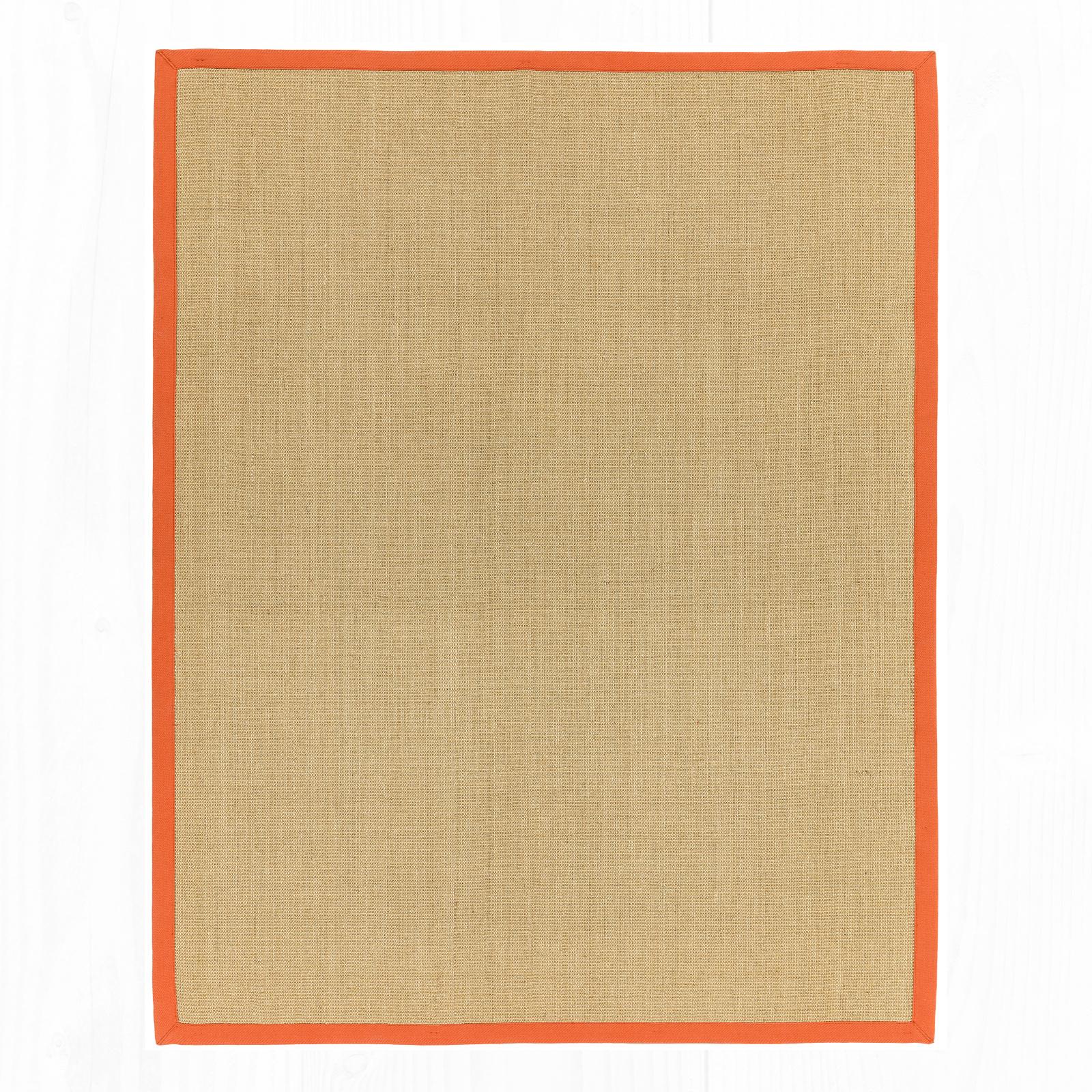Sisal - Linen/Orange