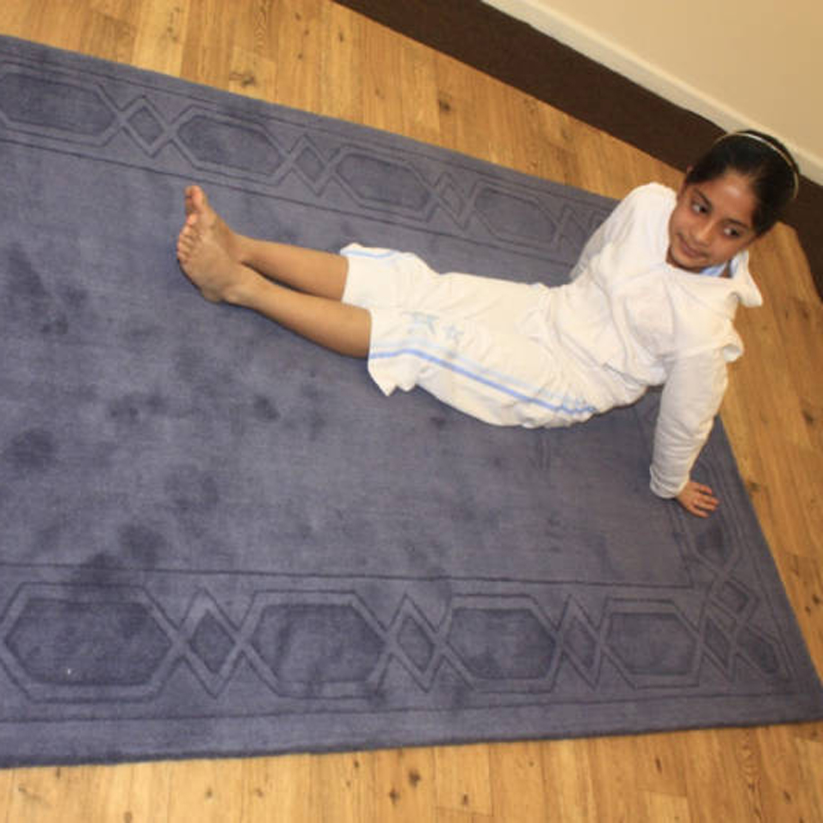 Indian Wool Links - Blue