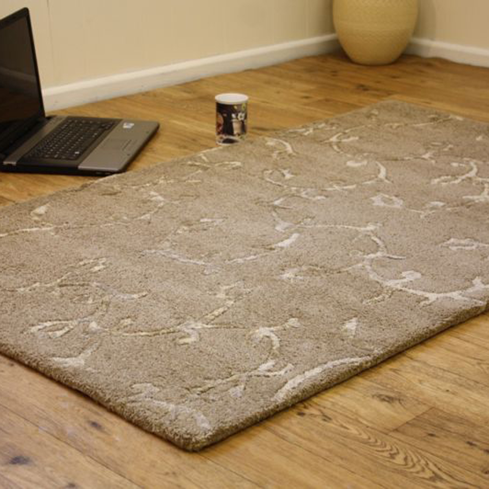 Indian Wool Louvere - Beige