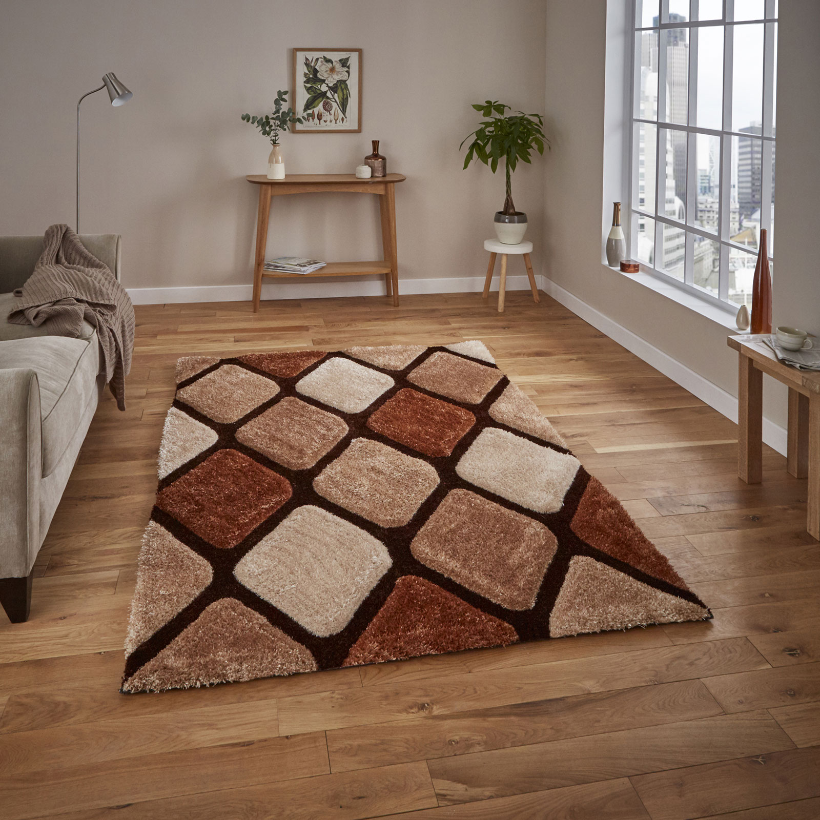 Noble House NH9247 - Beige Brown