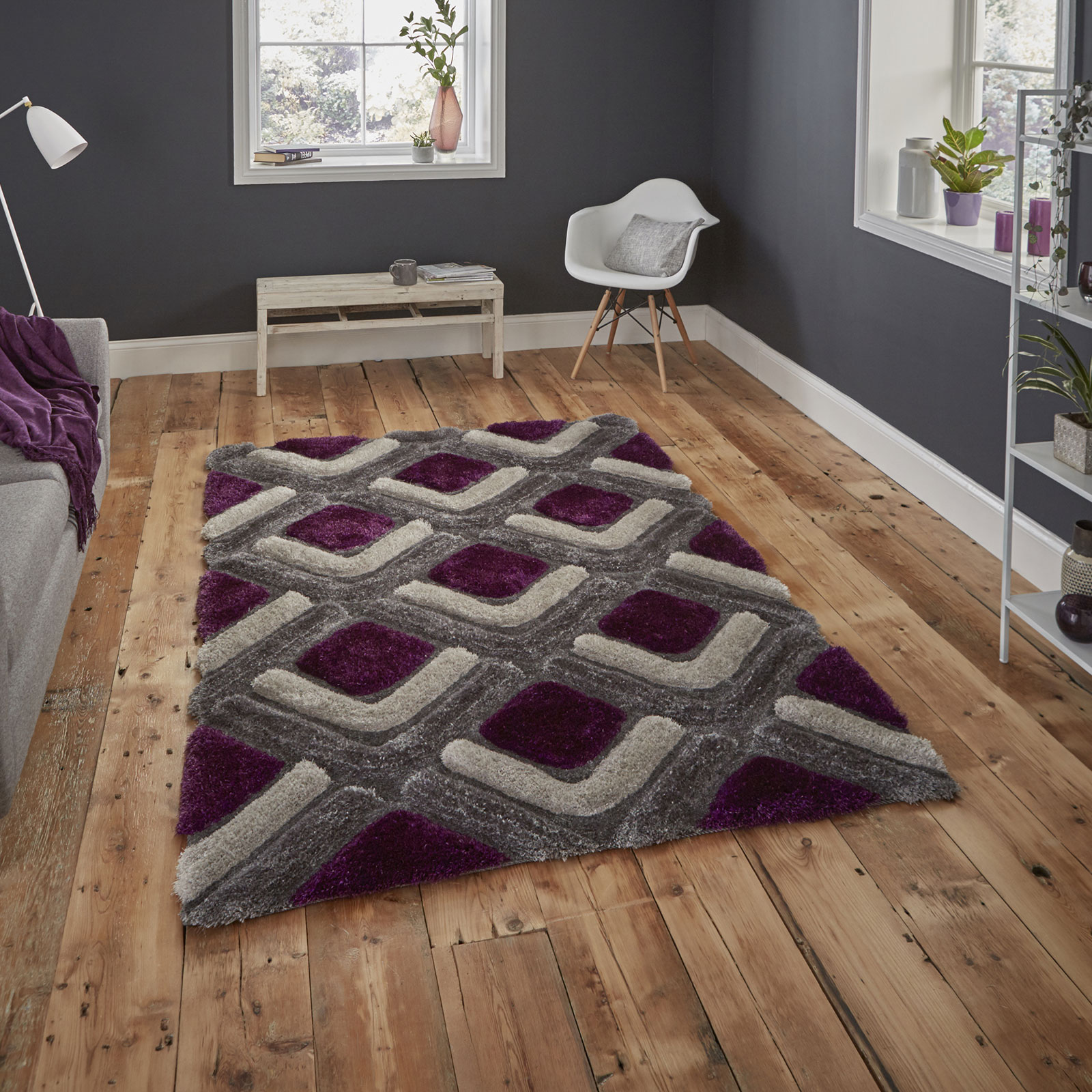 Noble House NH8199 - Grey Purple