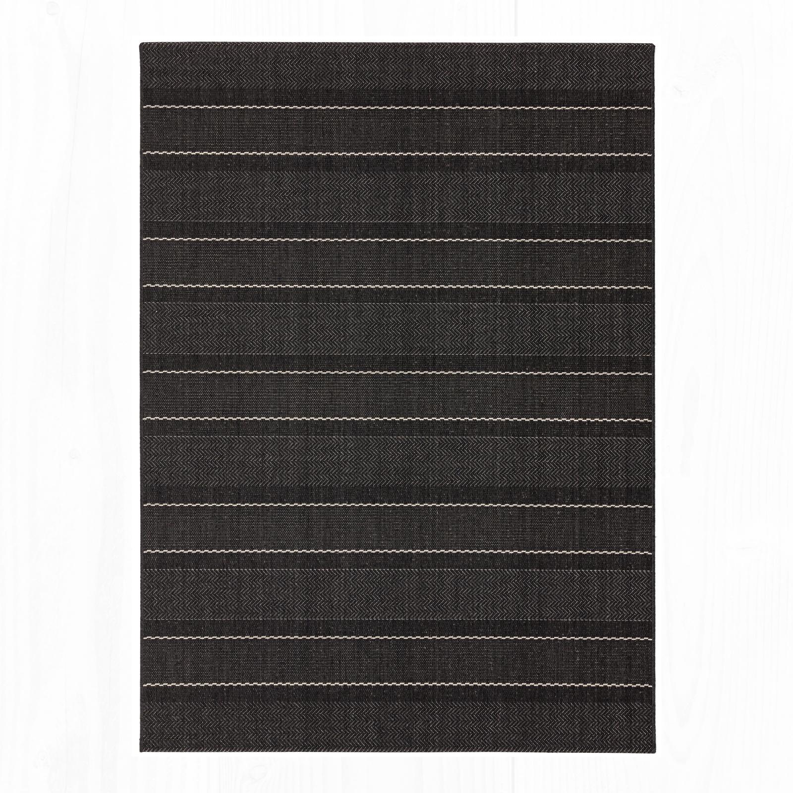 Patio - 05 Charcoal Stripe
