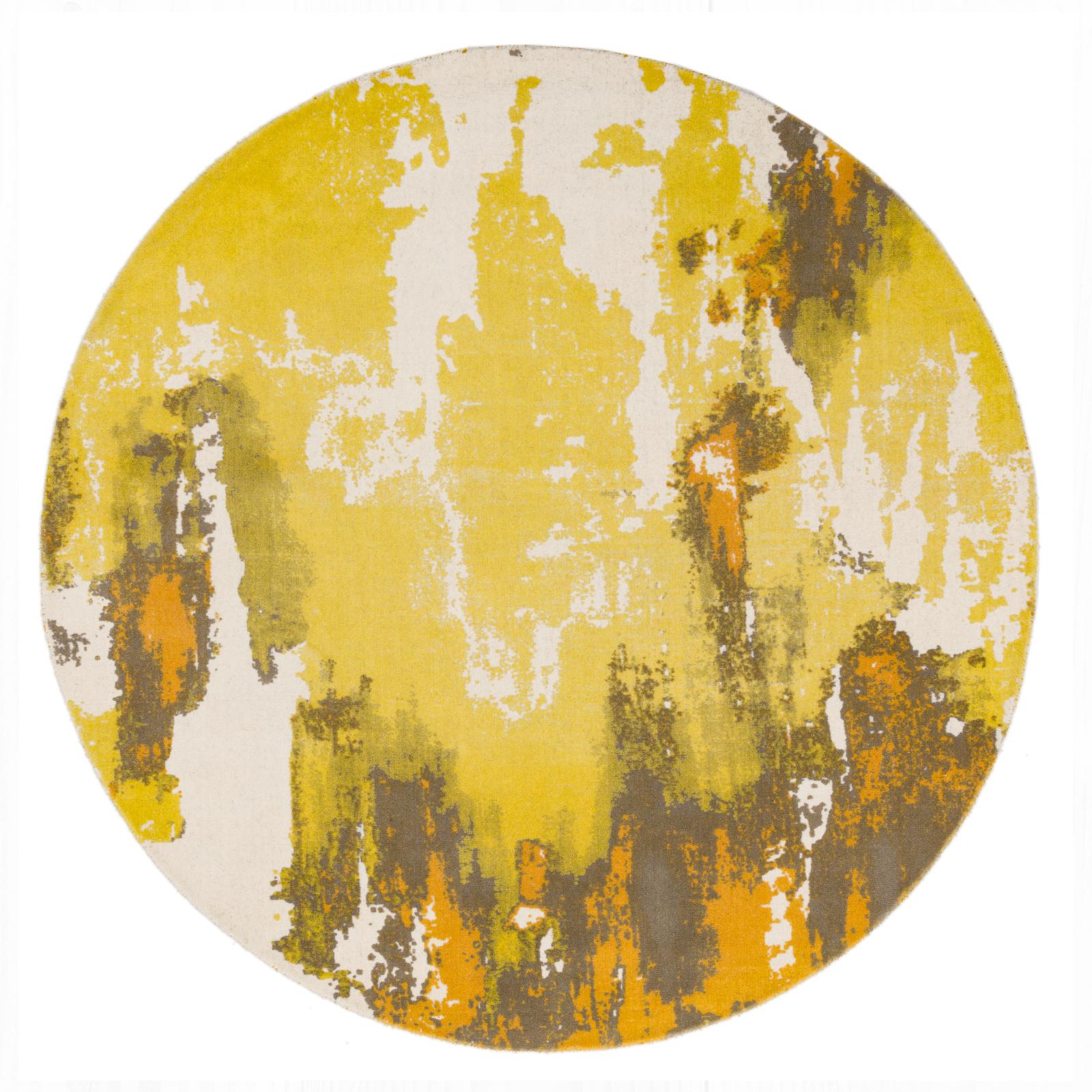 Saturn - Yellow Circle