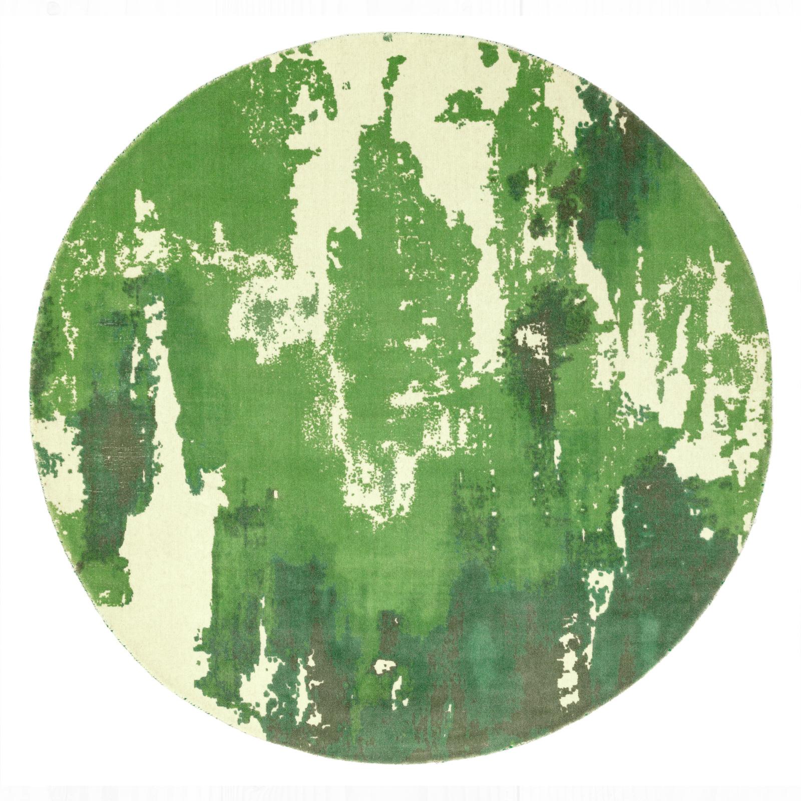 Saturn - Green Circle