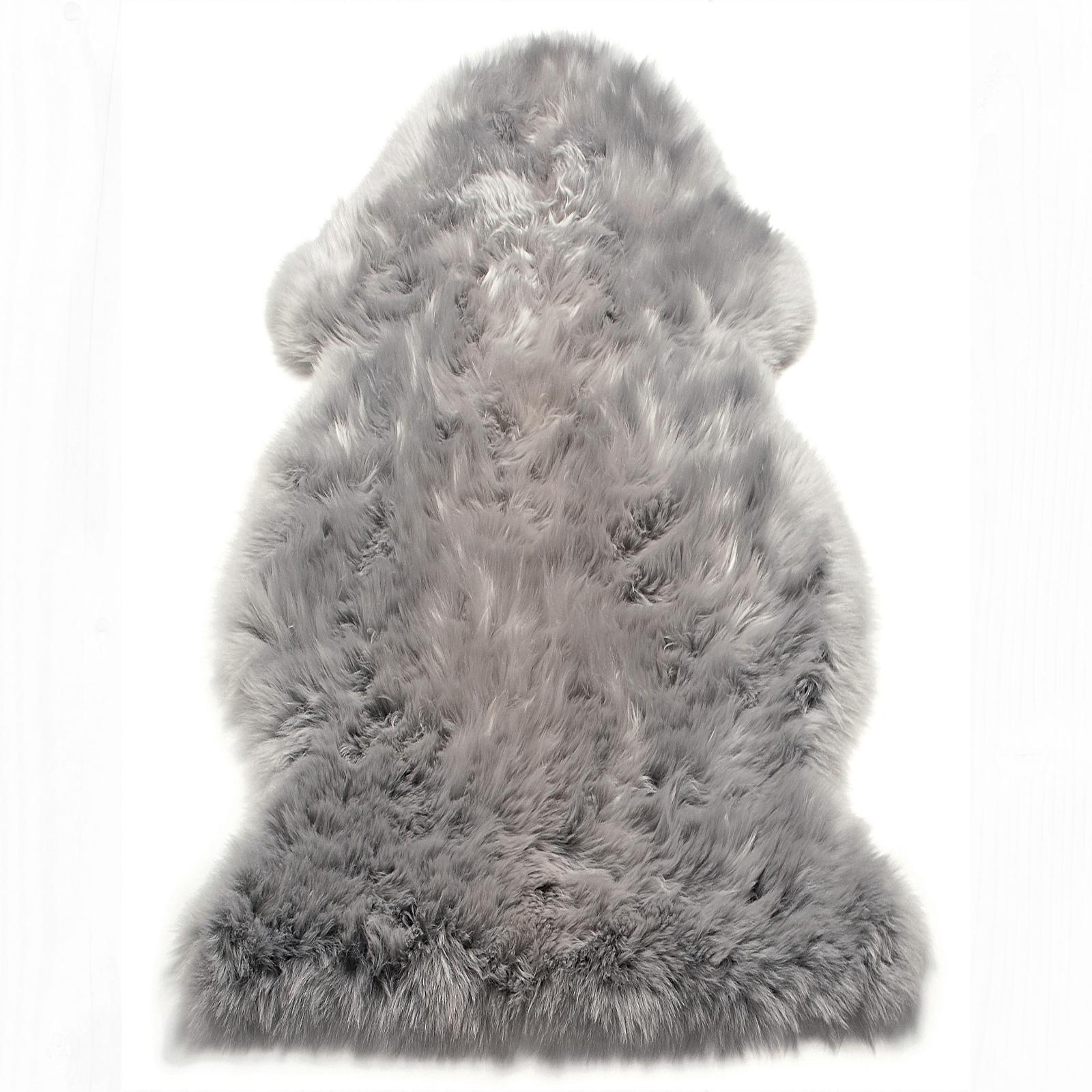 Sheepskin Colours - Silver
