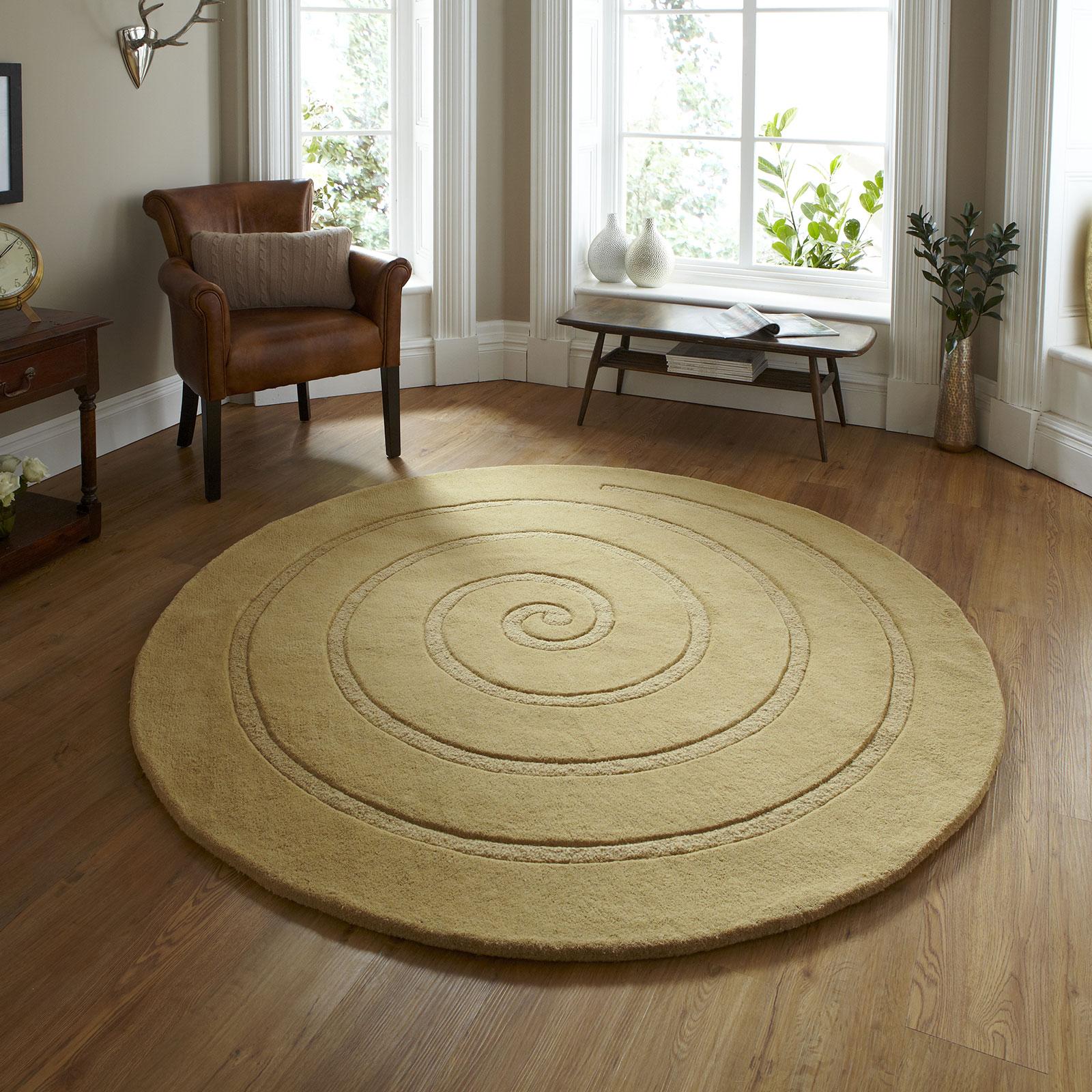 Spiral - Gold - Circle